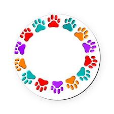 t=fund animal abuse DARKS Cork Coaster