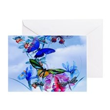 Throw Stadium Blkt Take Flight Butte Greeting Card