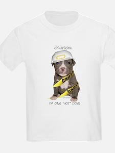 Pit Bull Terrier Puppy Kids T-Shirt