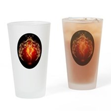Clothing Flame Drinking Glass