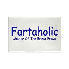 Fartaholic Rectangle Magnet