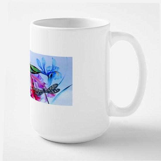 Key Hangar Take Flight Bottom Butterfli Large Mug