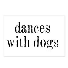 Dances with Dogs Postcards (Package of 8)