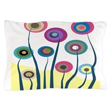 funky trees 6 B Pillow Case
