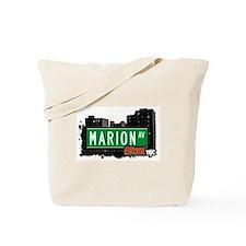 Marion Av, Bronx, NYC Tote Bag