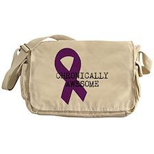 Chronicallly Awesome Messenger Bag