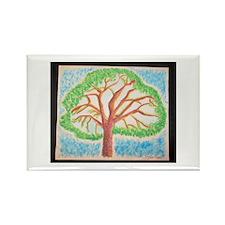 Oak lea Pine Rectangle Magnet