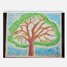 Oak Lea Pine Wall Calendar