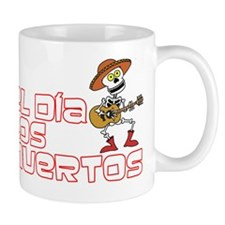 Day Of The Dead Mexican Holiday Mug