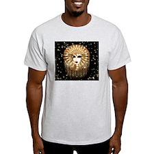 Golden Venice Carnival Mask T-Shirt