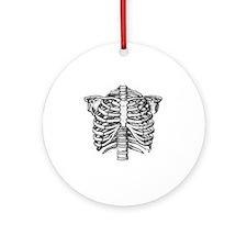 SkeleChest Round Ornament