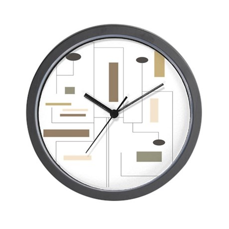 Minimalist Shower Curtain 2 Wall Clock By Admin Cp11157433