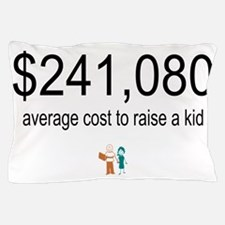 $241,080 costs to raise a child Pillow Case