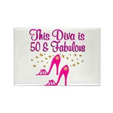 50TH SHOE QUEEN Rectangle Magnet