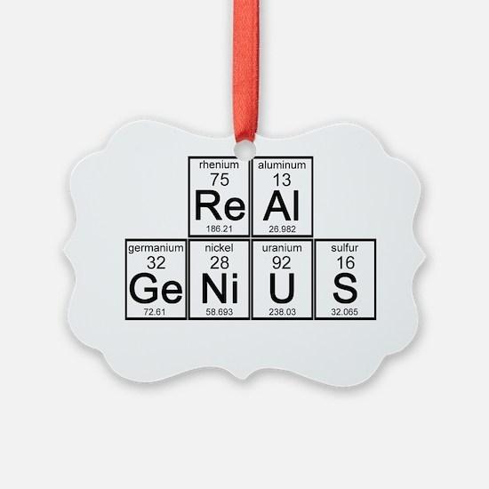 Real Genius Ornament