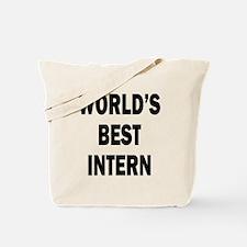 World's Best Intern Tote Bag