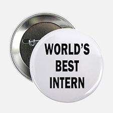 """World's Best Intern 2.25"""" Button (10 pack)"""