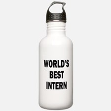 World's Best Intern Water Bottle