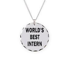 World's Best Intern Necklace