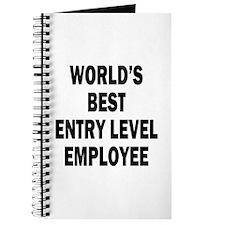 World's Best Entry Level Employee Journal