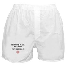 Doctorate in Fatherhood Boxer Shorts