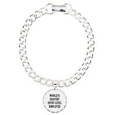 World's Okayest Entry Level Employee Bracelet
