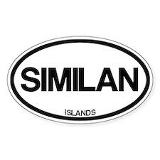 Similan Islands Decal