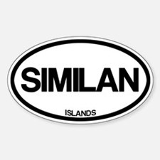 Similan Islands Decal
