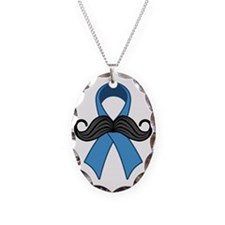 Prostate Awareness Ribbon Mous Necklace