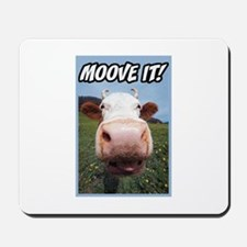Moove It Cow Mousepad