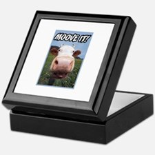 Moove It Cow Keepsake Box