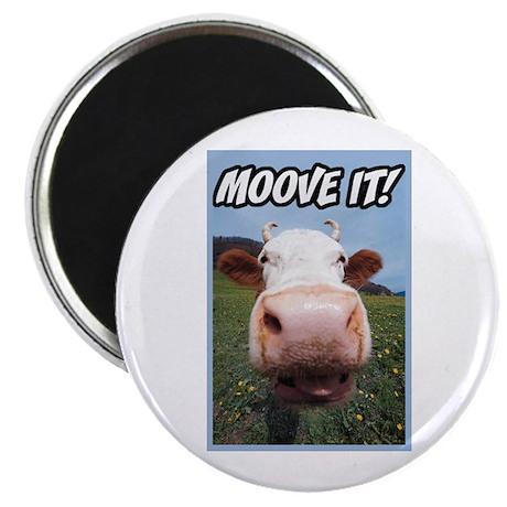 Moove It Cow Magnet
