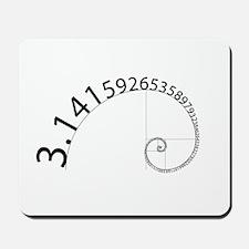 Pi to 100 Digits Mousepad