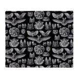 Bat Fleece Blankets