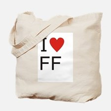 Unique Ff Tote Bag