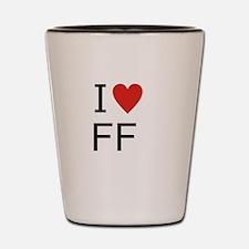 Cute Ff Shot Glass
