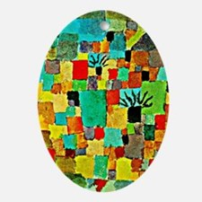 Paul Klee - Southern Tunisian Garden Oval Ornament