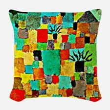 Paul Klee - Southern Tunisian  Woven Throw Pillow