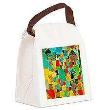 Paul Klee - Southern Tunisian Gar Canvas Lunch Bag