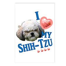 Shih-Tzu Postcards (Package of 8)