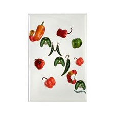 Jamaica Chilis Rectangle Magnet (10 pack)