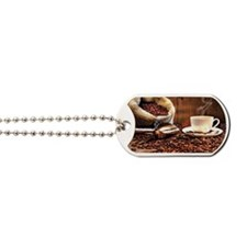 Coffee Aroma Dog Tags