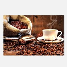 Coffee Aroma Postcards (Package of 8)