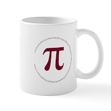 100 Digits of Pi - Circle Mugs