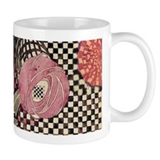 Mackintosh Rose Abstract Mugs