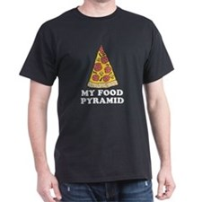 Pizza Food Pyramid T-Shirt