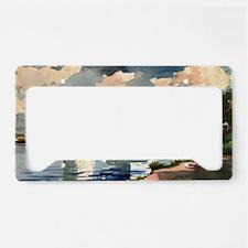 Winslow Homer - Salt Kettle,  License Plate Holder