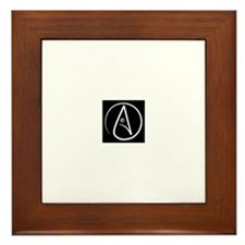 Atheist Framed Tile