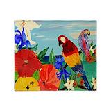 Parrots Blankets