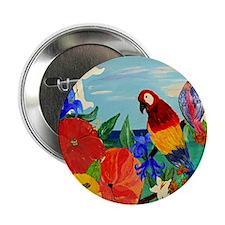 "parrot garden 2.25"" Button"